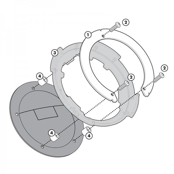 BF01 Σύστημα κλειδώματος σάκου στο ρεζερβουάρ