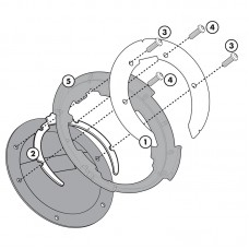 BF02 Σύστημα κλειδώματος σάκου στο ρεζερβουάρ