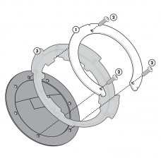 BF03 Σύστημα κλειδώματος σάκου στο ρεζερβουάρ