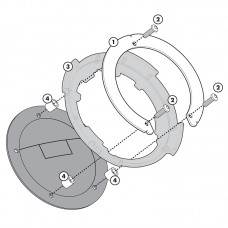 BF04 Σύστημα κλειδώματος σάκου στο ρεζερβουάρ