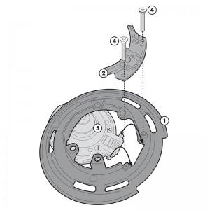 BF22 Σύστημα κλειδώματος σάκου στο ρεζερβουάρ