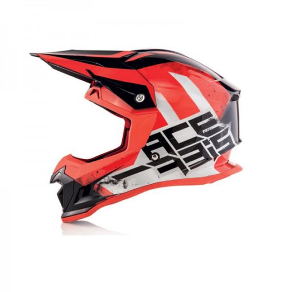 Acerbis Profile Μαύρο- Κόκκινο