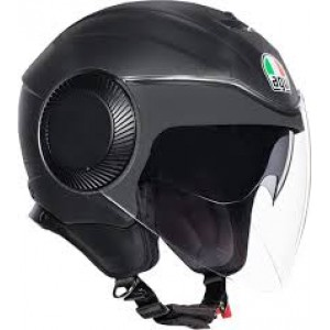 AGV Orbyt Fluid Solid Matt Black